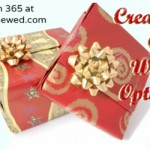 Creative, Eco-Friendly Gift Wrap Options {Green in 365: Christmas}