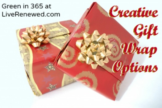 Creative Gift Wrap Options {Live Renewed}