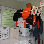 Organizing Soccer Clothes {Green in 365: Laundry}