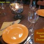 Resourceful Table Decorations {Green in 365: Thanksgiving}
