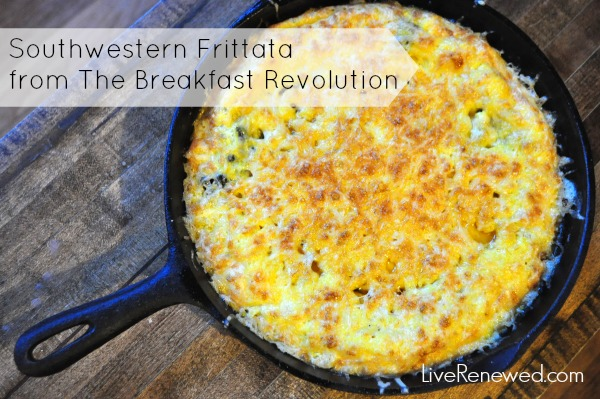 Southwestern Frittata from The Breakfast Revolution by Beth @ Red and Honey