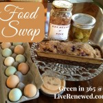 Food Swapping {Green in 365}