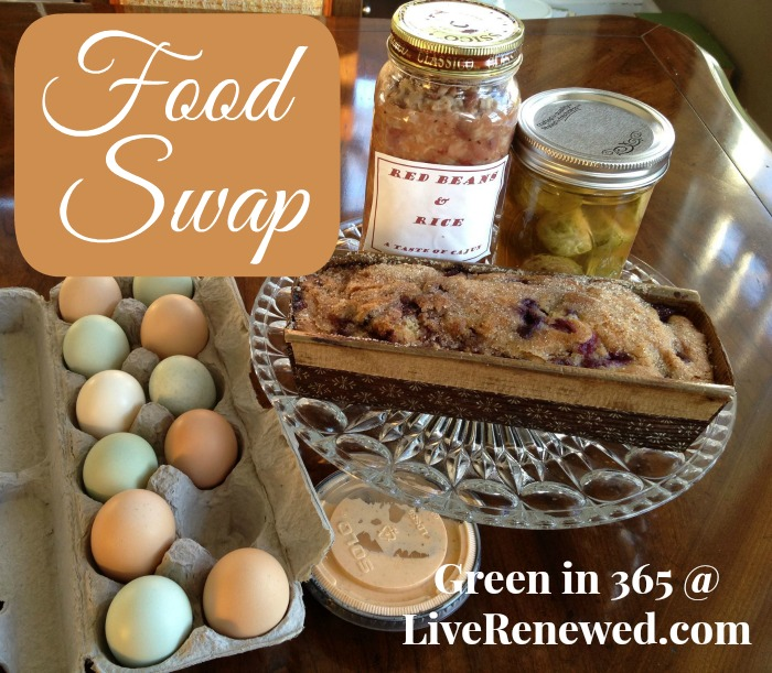 How to join a food swap for homemade food in your area!