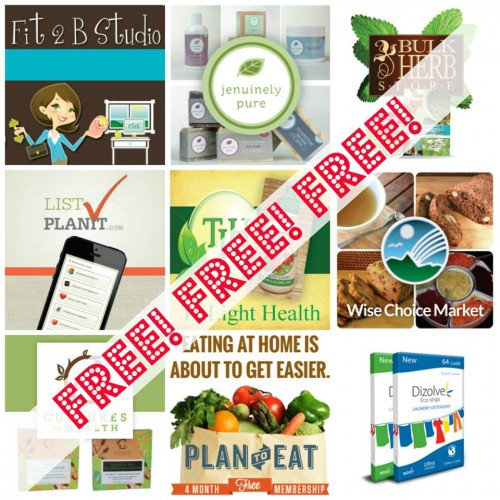 Free Bonuses worth $158 as a part of the Ultimate Healthy Living Bundle!