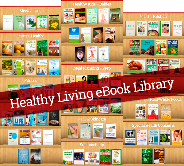 The Ultimate Health Living Bundle Bookshelf!