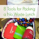 Green in the Life – How to Pack a No Waste Lunch Box {Green in 365}