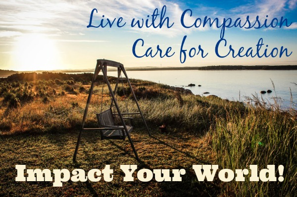 Live with Compassion. Care for Creation. Impact Your World! at LiveRenewed.com