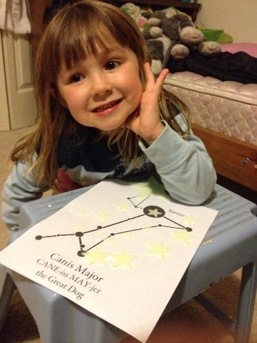natural nightlights star chart