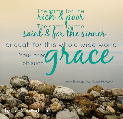 Oh such grace quote at LiveRenewed.com