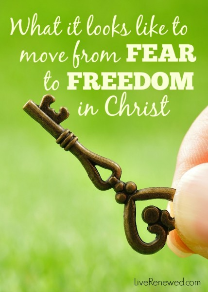 I have been on such a rewarding journey of faith over the past few years! What I'm learning about moving from fear to Freedom in Christ.