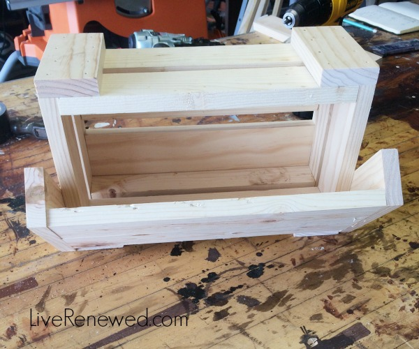 Step 5 - DIY Kitchen Storage Bins