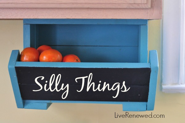 DIY Kitchen Storage Boxes @ LiveRenewed.com