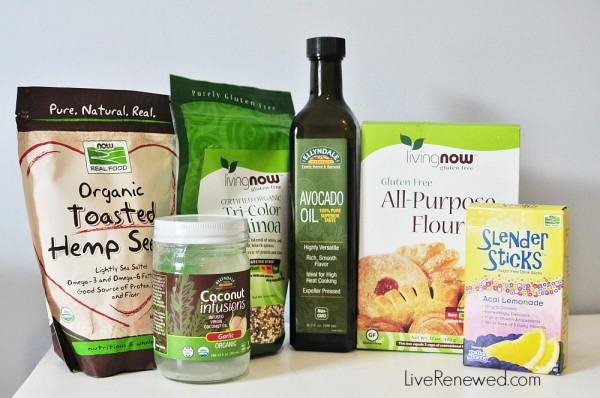 Now Foods Products as part of the #NOWWellness campaign