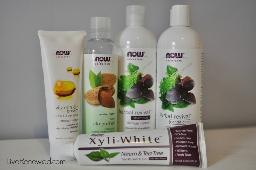 NOW personal care products #NOWWellness campaign