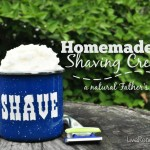 Need a quick and easy Father's Day gift? Homemade Shaving Cream from LiveRenewed.com