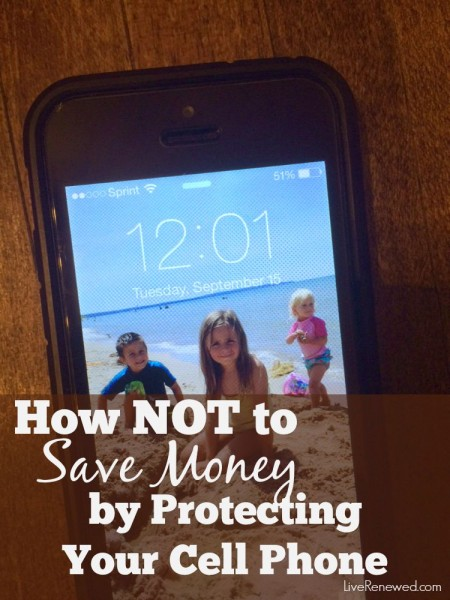How NOT to Save Money by Protecting Your Cell Phone. What's your #PhoneWrecker type?