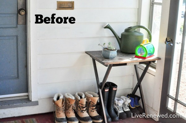 Are you dreading winter and the onslaught of winter gear that comes along with it? Wondering where you are going to keep all of that stuff? Check out this Winter Gear Storage Solution: Simple DIY Shelf & Bench