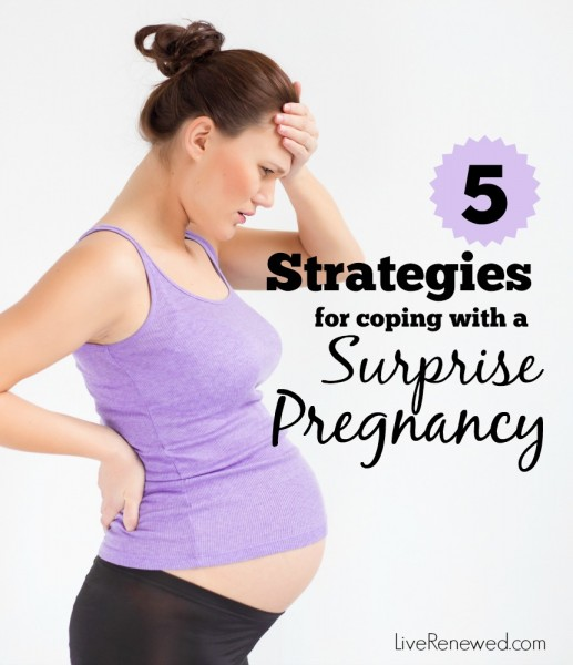 Find yourself unexpectedly expecting a baby? It can be an stressful and anxious experience. But you can take care of yourself and process your feelings using these 5 Strategies for Coping with a Surprise Pregnancy.