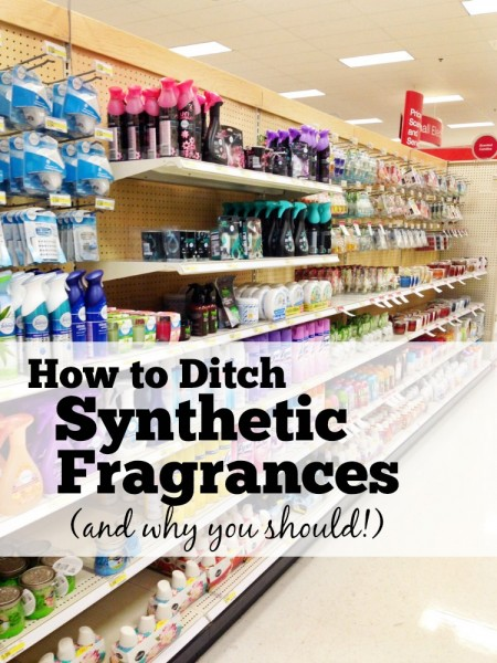 Do you know what's lurking in all those scented products around your home? How to Ditch Synthetic Fragrances, and why you should!