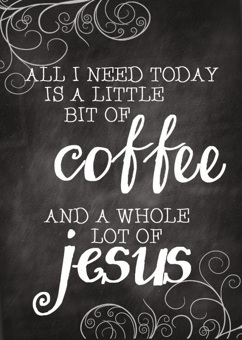 Coffee and Jesus - My self-care morning routine