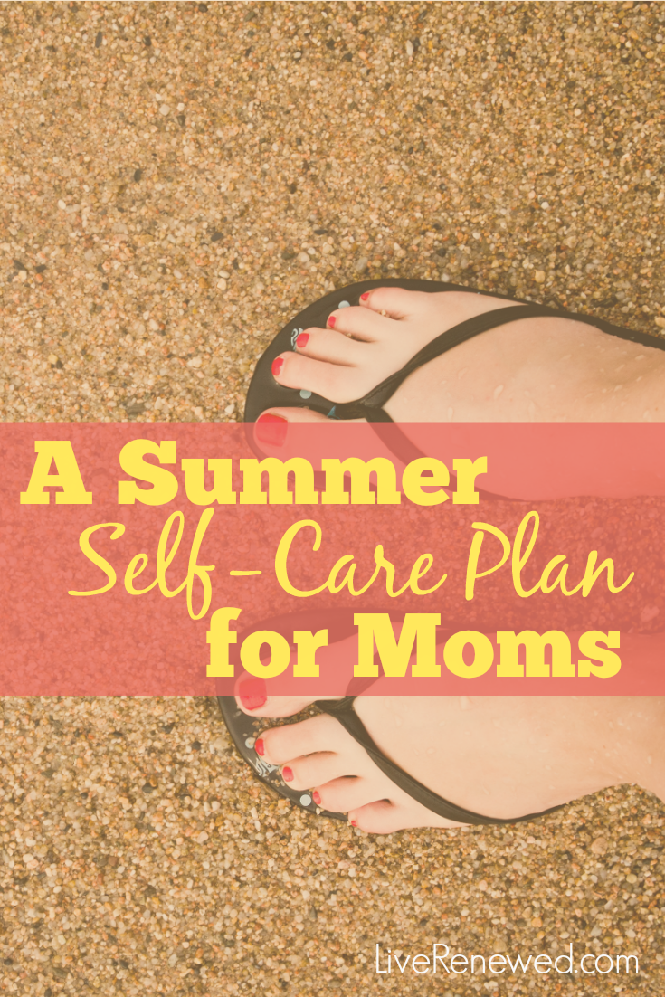 Summer can mean long days at home with our kids, which means we mamas are in need of some self care to get us through! Create a plan with these ideas, tips, and activities for summer self care for moms!